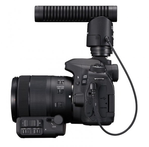 canon 80d microphone