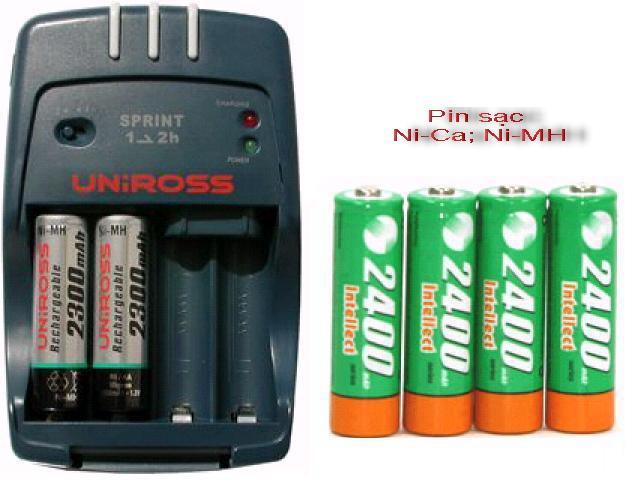 Các loại pin sạc phù hợp với máy ảnh 3