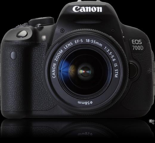Đánh giá nhanh dòng sản phẩm Canon 700d