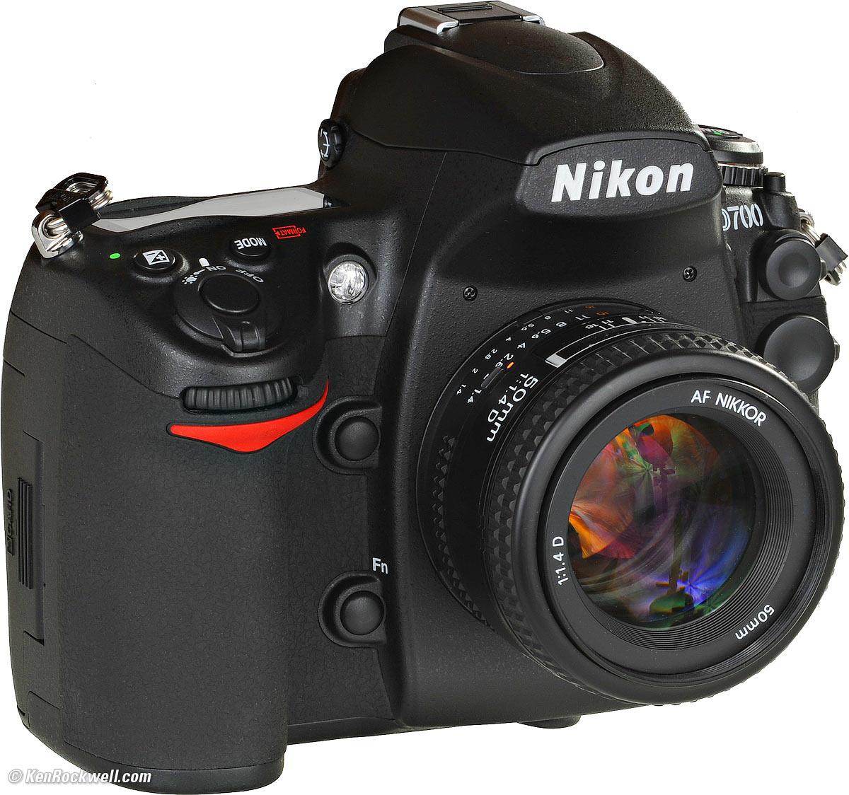 Hướng dẫn sử dụng Nikon D700