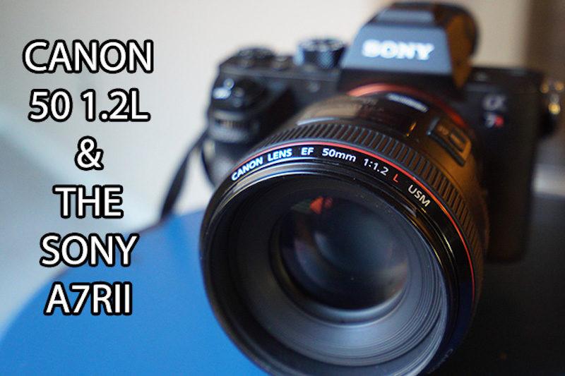 Canon 50 f -1.2L voi body Sony A7RII - 001