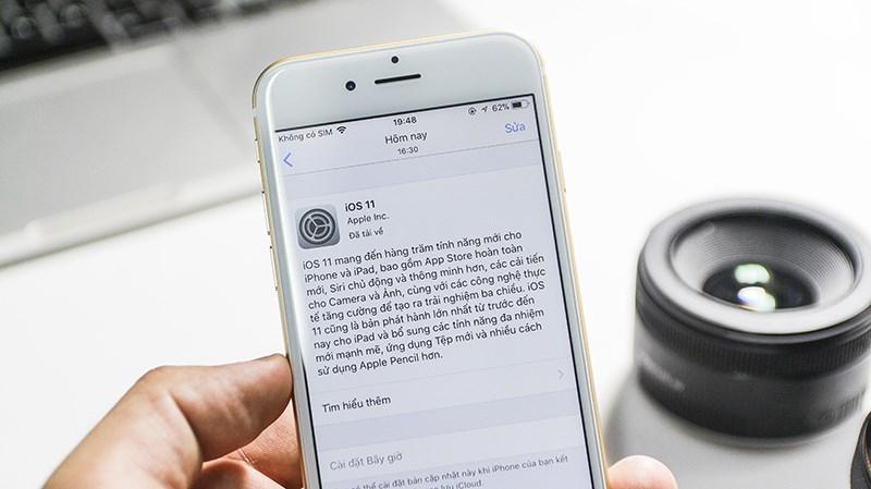 Hướng dẫn cập nhật iOS 11 chính thức từ Apple