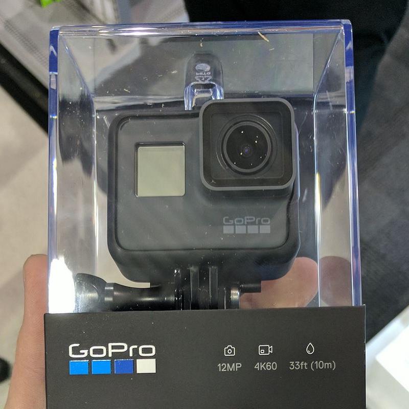 Máy quay GoPro Hero 6 Black rò rĩ hình ảnh đóng hộp