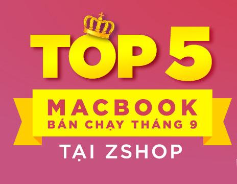 top macbook bán chạy