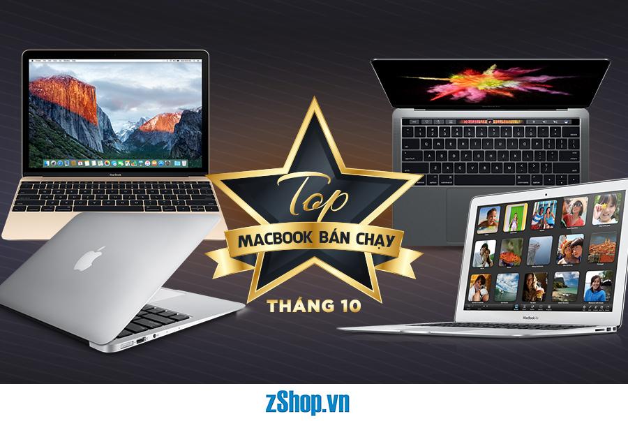 top macbook bán chạy thang 10