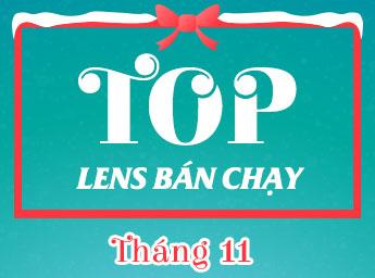 top lens bán chạy thang 11
