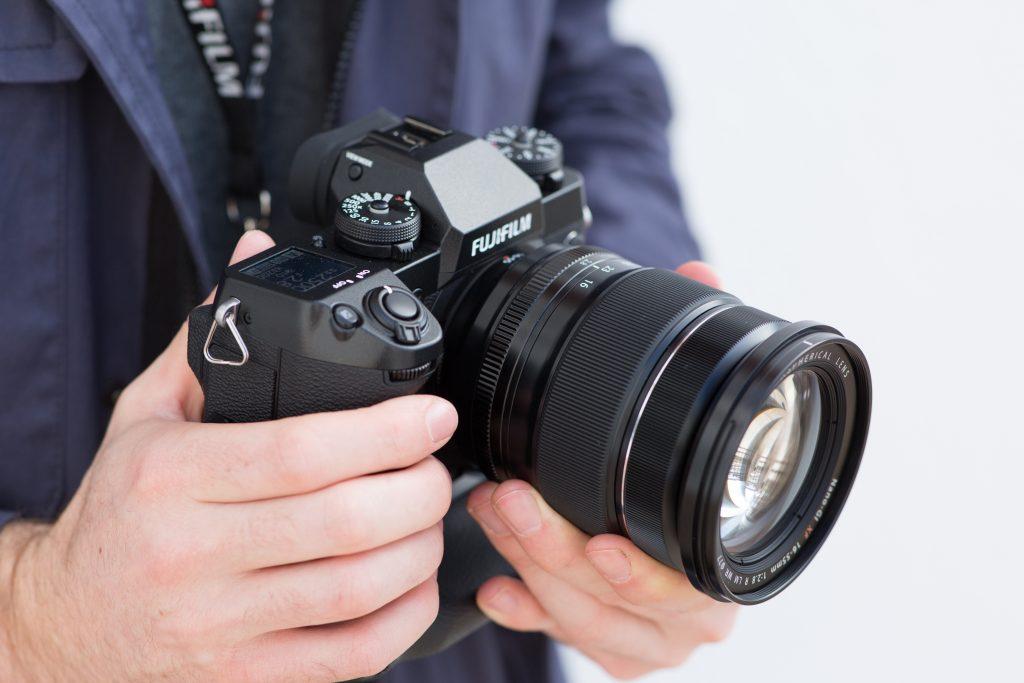 Kết quả hình ảnh cho Fujifilm X-H1