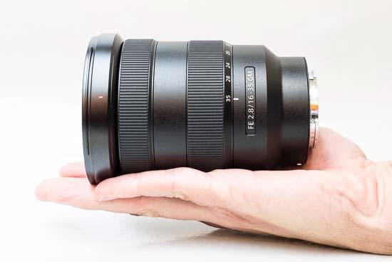 Ống kính Sony FE 16-35mm F2.8 GM trên tay