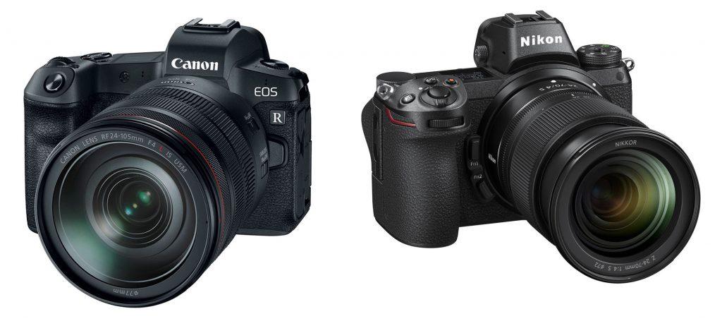 12 điểm khác biệt cần lưu ý giữa Nikon Z7 và Canon EOS R