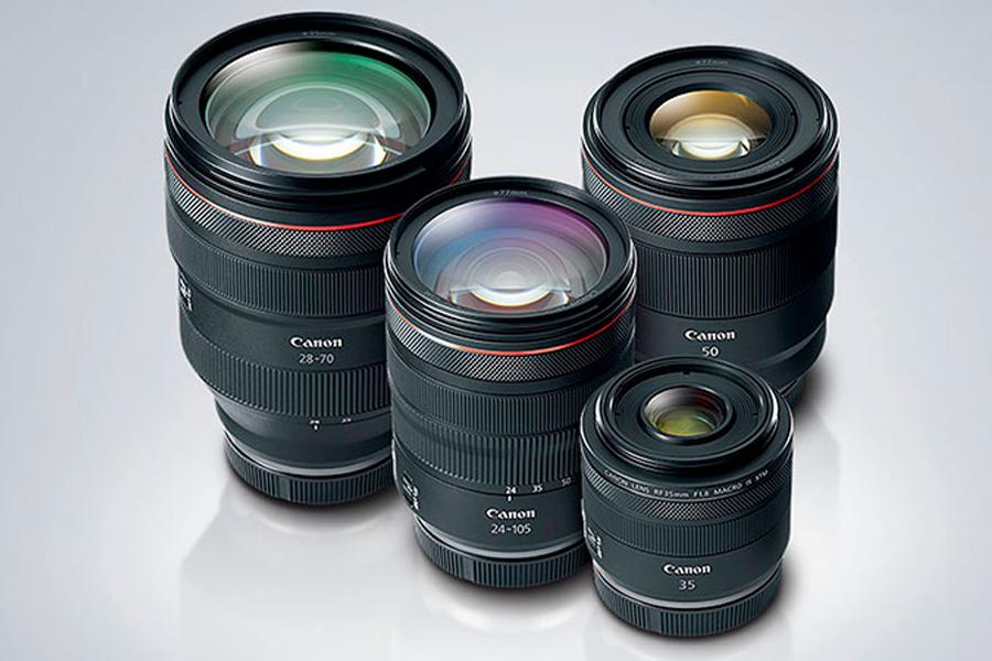 Các ống kính ngàm RF tương lai cho Canon EOS R