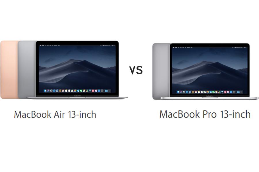 MacBook Air 2018 vs MacBook Pro 2018: Đâu là lựa chọn tốt nhất dành