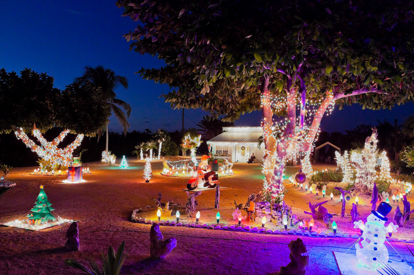 Cayman Brac, Spot Bay. It's Christmas Time!