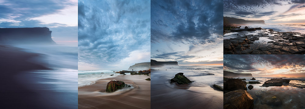 single-sunrise-multiple-photos