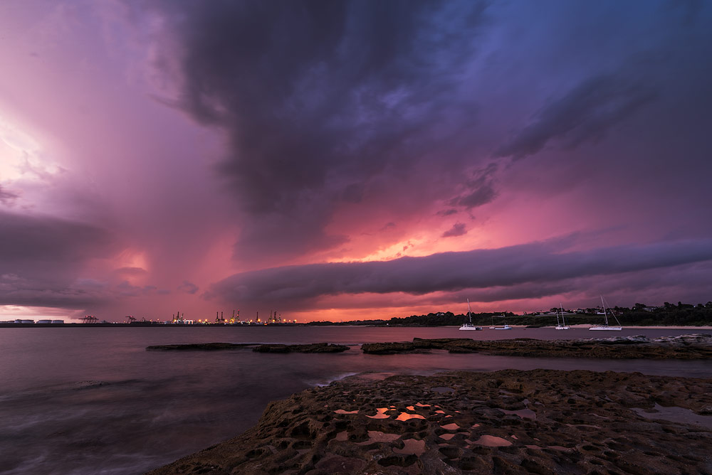 stormy-weather-sunset