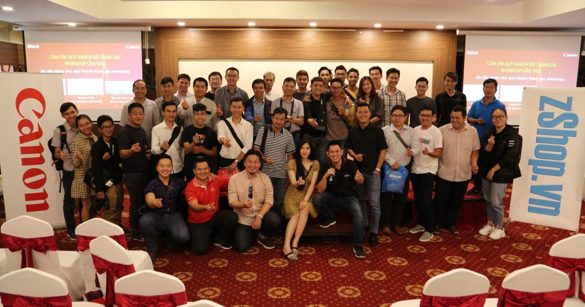 Workshop Canon EOS RP Cần Thơ 6.4.19