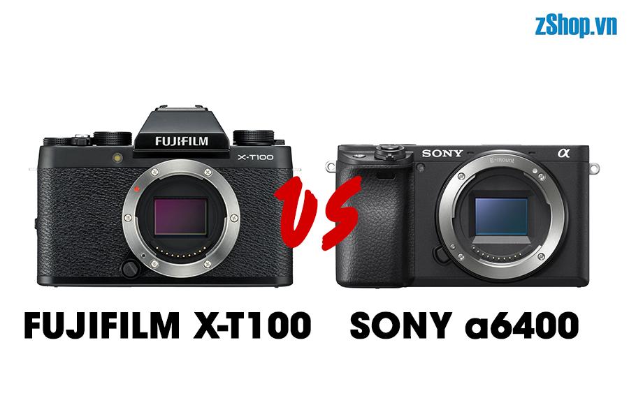 x-t100-vs-a6400