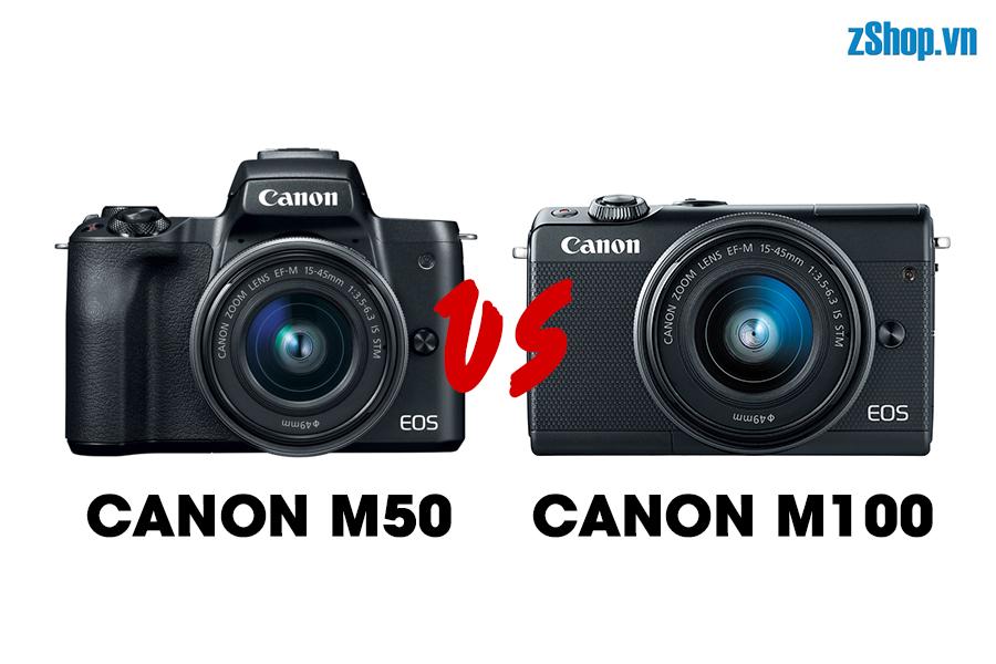 canon eos m50-vs-m100