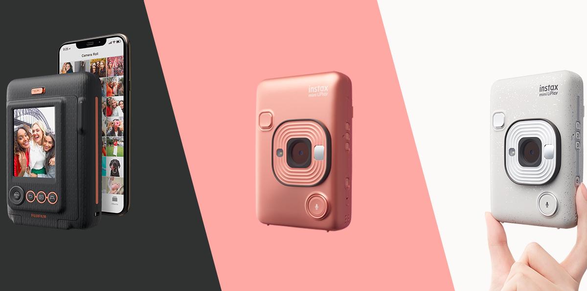 Fujifilm ra mắt máy ảnh chụp lấy ngay nhỏ nhất thế giới - Instax Mini LiPlay