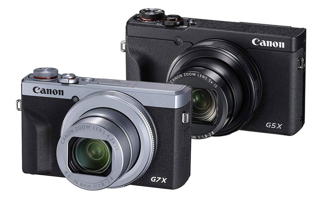 Canon PowerShot G7 X III và G5 X II
