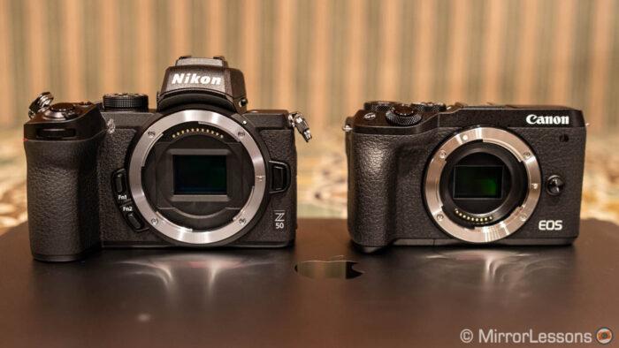 nikon-z50-vs-m6-ii-product-1-700x394