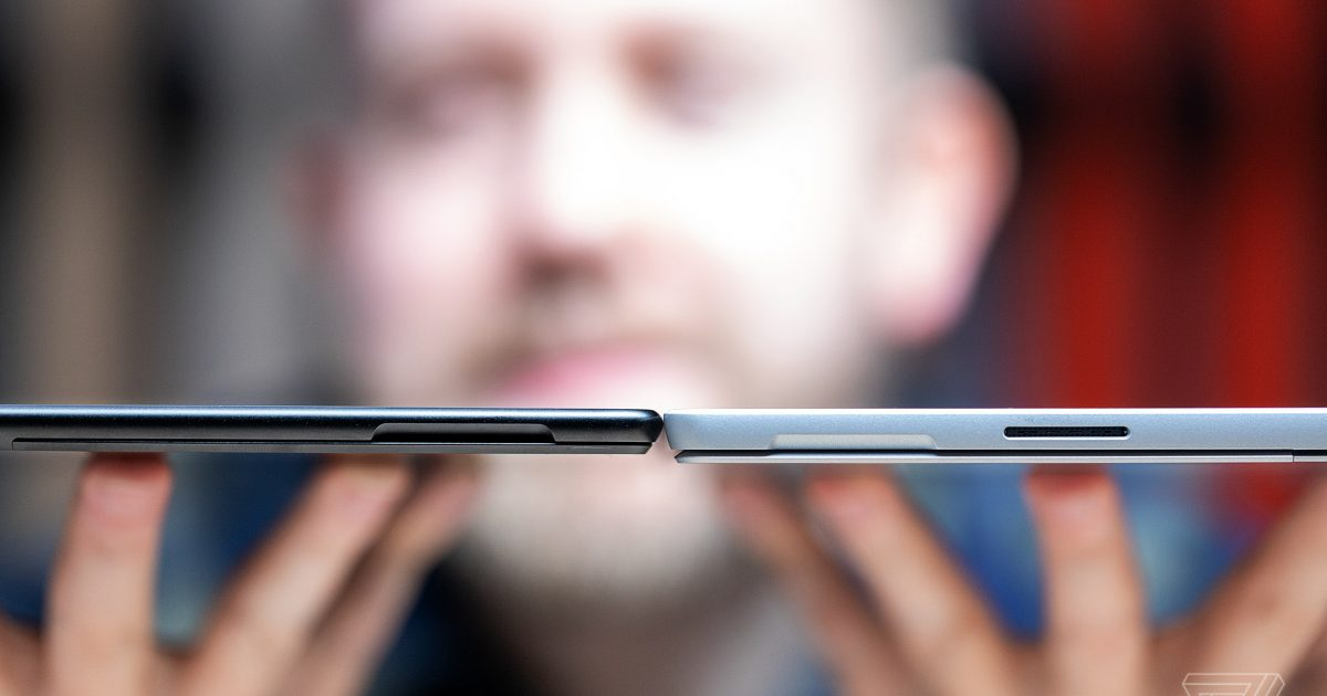 Surface Pro X vs Surface Pro 7