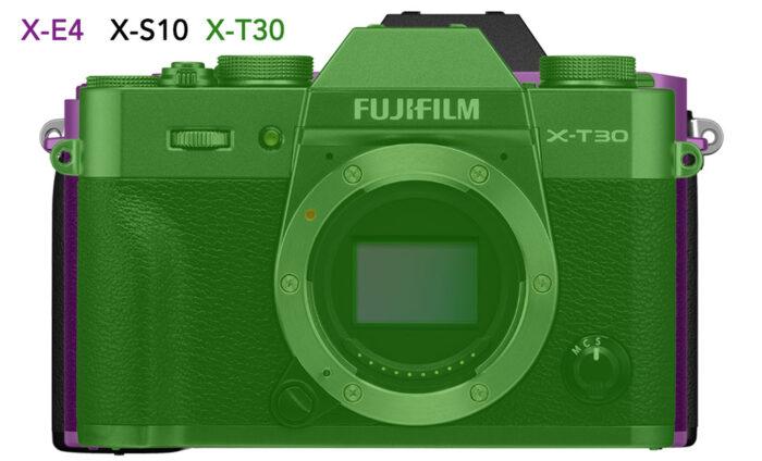 Fujifilm-XE4-vs-XS10-vs-XT30-size-1-700x424