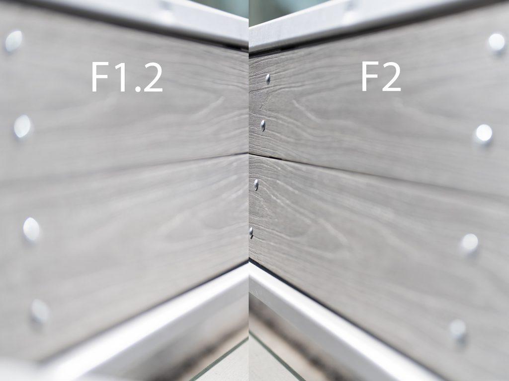 SonyFE50mmF1.2-MechanicalVignetting_F1.2_vs_F2