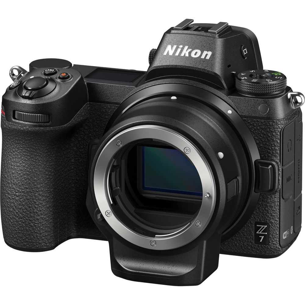 Nikon Z7 + Ngàm chuyển Nikon FTZ