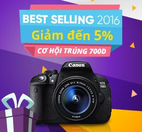 máy ảnh best selling 2016 giá tốt nhất