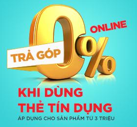 trả góp tín dụng 0% lãi xuất