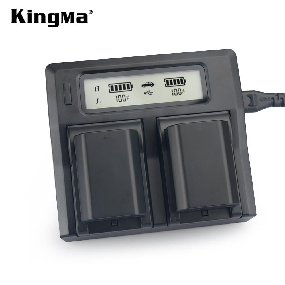 Sạc đôi LCD Kingma cho pin NP-FZ100