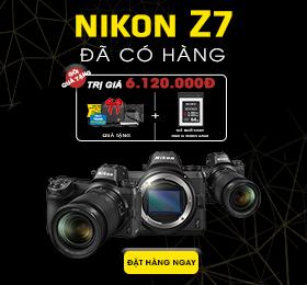 Nikon Z7 Đã có hàng tại zShop
