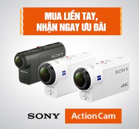 Mua sony action cam nhan uu dai tại zShop