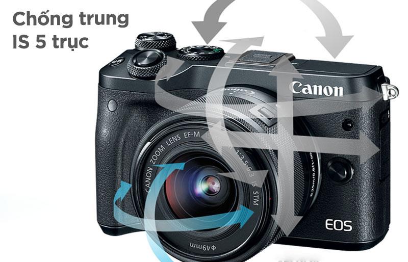 Canon EOS M6 + Kit 15-45mm IS STM (màu đen, Chính hãng)