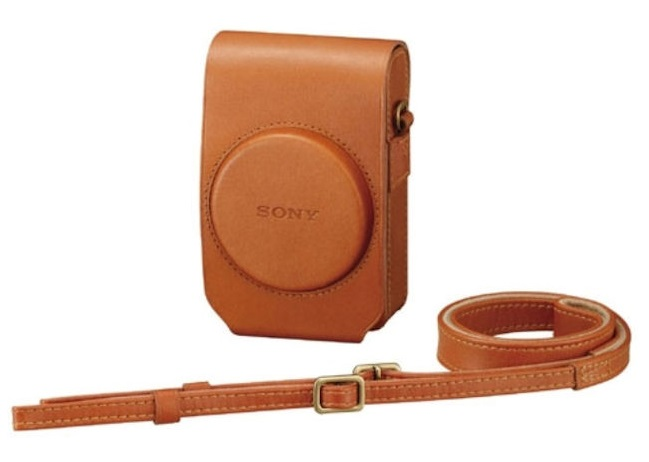 Bao da đứng Sony cho máy ảnh Sony Cyber-shot RX100, RX100II
