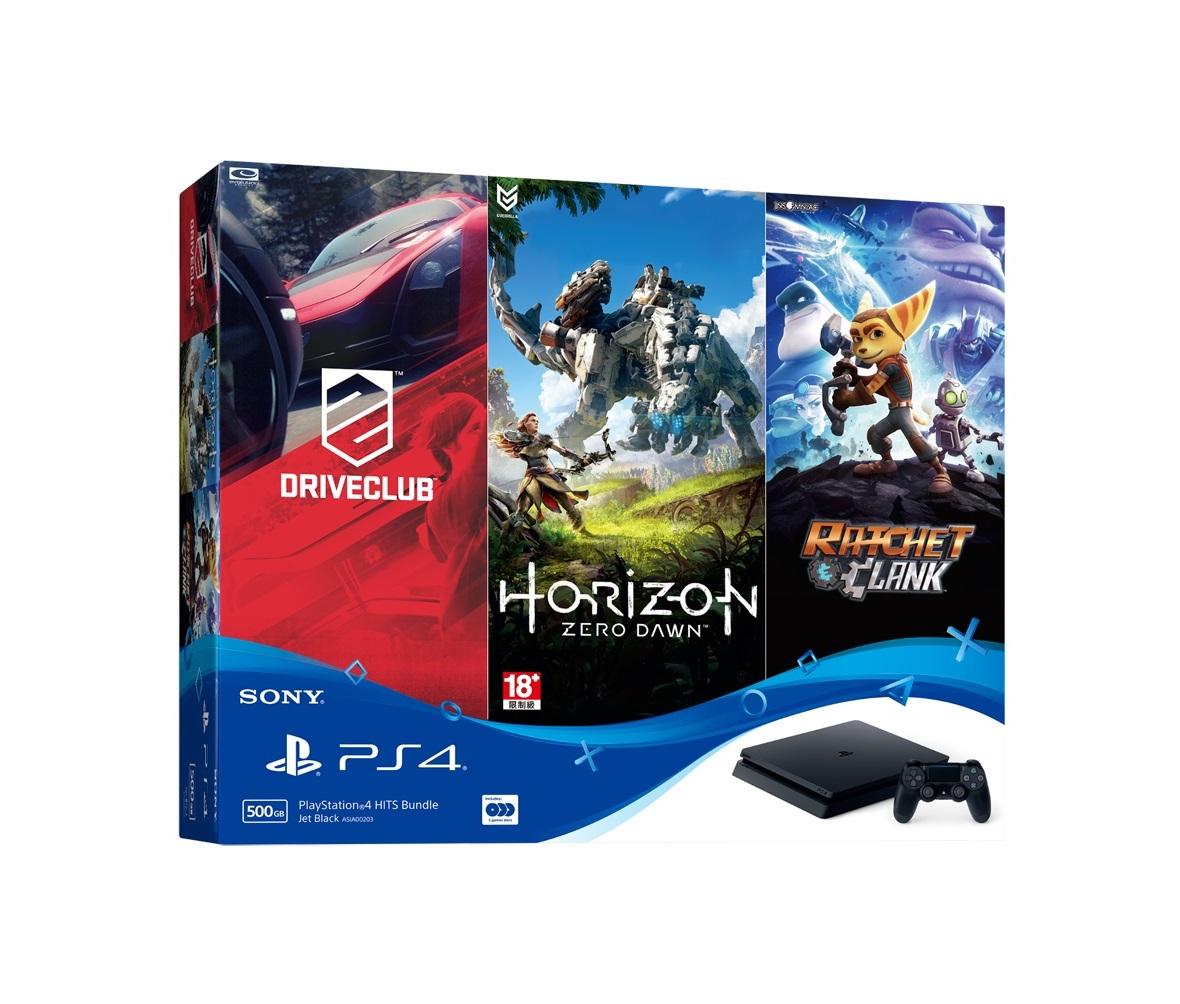 PlayStation 4 HITS Bundle (Combo máy PS4 và 3 đĩa game)
