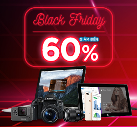 Black Friday giảm đến 60%
