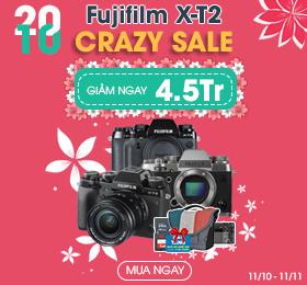 Crazy Fujifilm x-T2 giá cục khủng