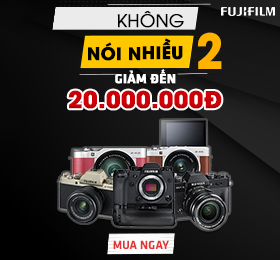 Fujifilm giam den 20tr