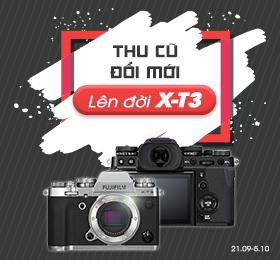 Fujifilm X-t3 thu cũ đổi mới