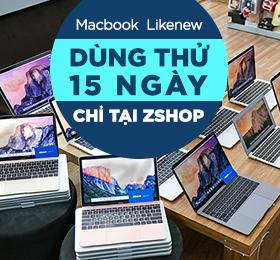 dùng thử macbook likenew