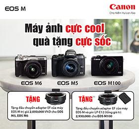 Máy ảnh Canon nhận quà cực shock