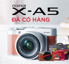 Fujifilm X-A5 gia tot tai zshop