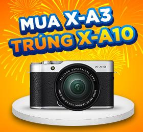 Mua Fujifilm X-A3 trung X-A10