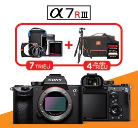 Pre Oder Máy ảnh Sony a7R III tại zShop
