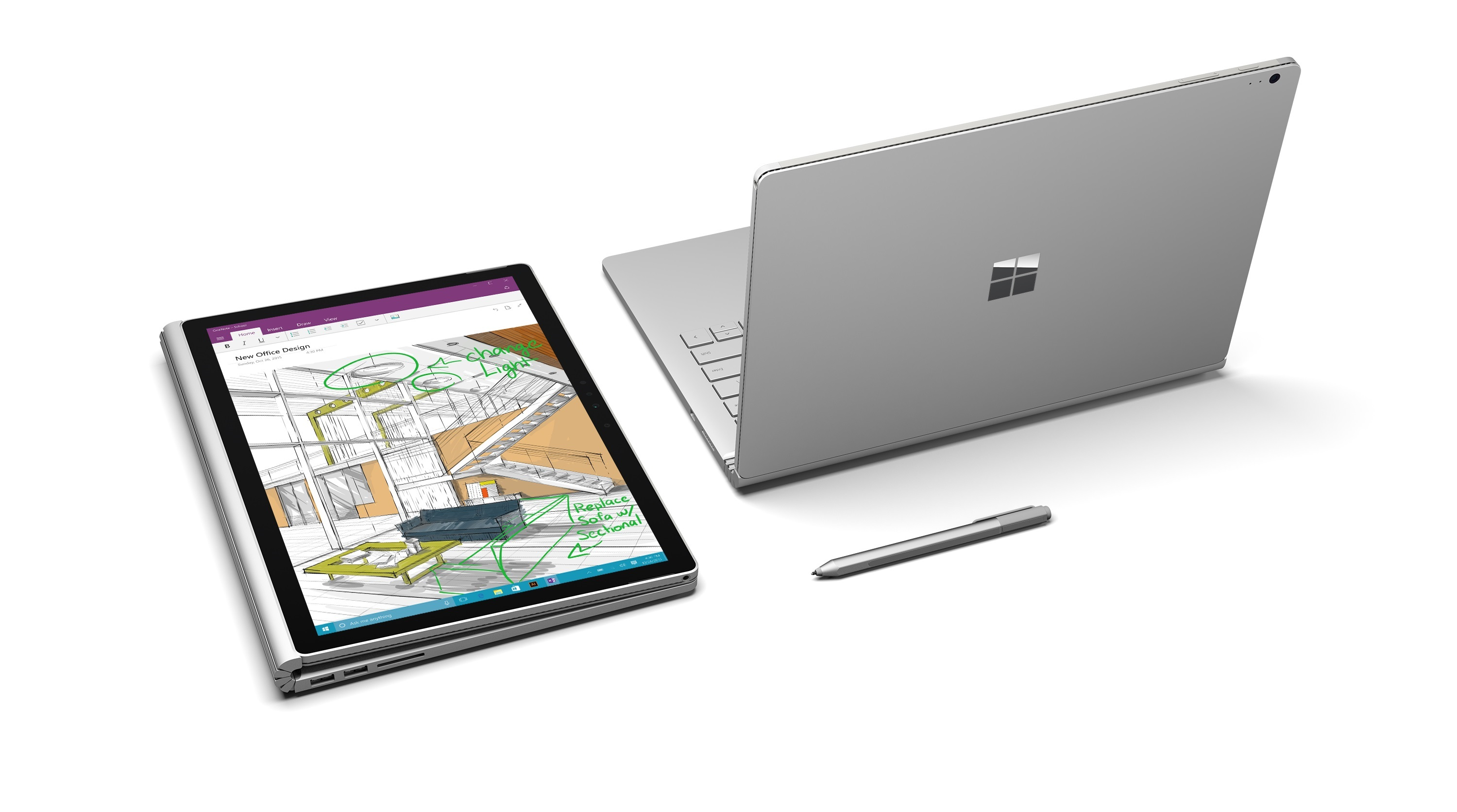 Surface Book 2 13.5 inch – Core i7 / Ram 8GB / SSD 256GB 2