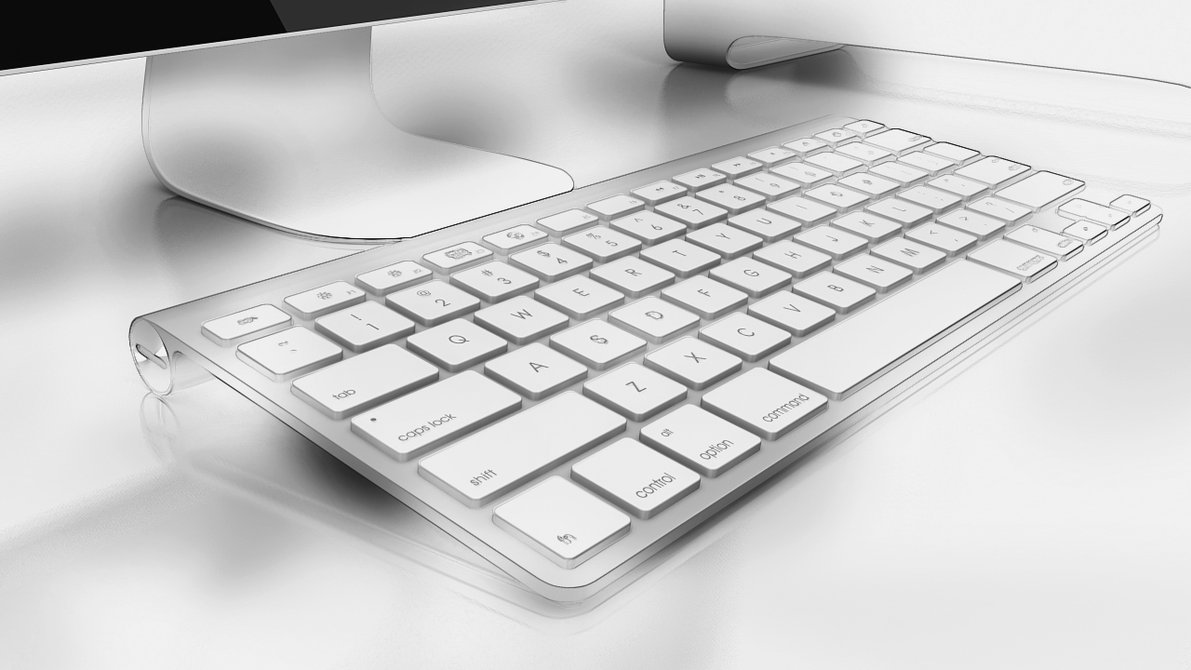 Apple Wireless Keyboard (no box)