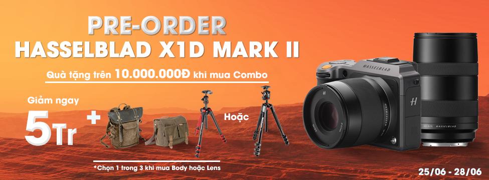 Pre-Order HASSELBLAD X1D Mark II 50C