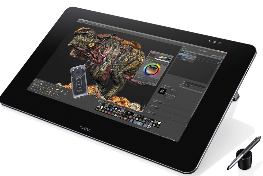 Bảng vẽ máy tính Wacom Cintiq 27QHD Touch DTH-2700/K0-CX 1
