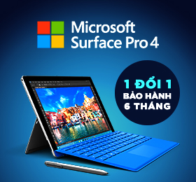 surface pro 4 1doi1 bao hang 6 thang